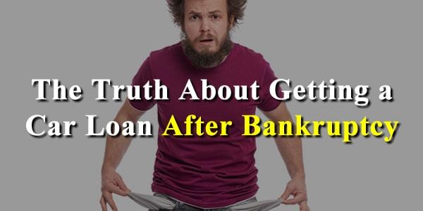 bankrupt auto loan