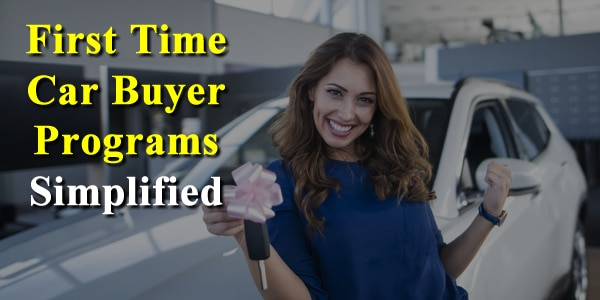 First Time Car Buyer Programs